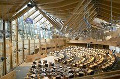 Image-The-Scottish-Parliament-Building,-Edinburgh,-Scotland,-Debating-Chamber