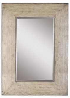Uttermost Langford Natural Wood Mirror  09508