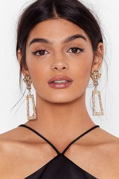 Don't Come Knocking Ornate Drop Earrings Nasty Gal, Really Cool Stuff, Nice Dresses, Drop Earrings, Knock Knock, Ivy, Prom, Makeup, Women