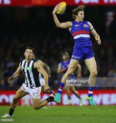 MELBOURNE, AUSTRALIA - AUGUST 12: Marcus Bontempelli of the... #levi: MELBOURNE, AUSTRALIA - AUGUST 12: Marcus Bontempelli of the… #levi