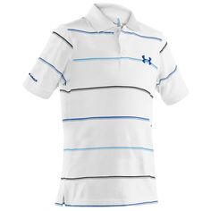 Under Armour® Boys 8-20 HeatGear® Charged Cotton Bentgrass Stripe Polo #VonMaur