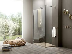 corner tempered glass shower cabin with tray Separet otto | corner shower cabin, Otto collection to manufacturer Arblu
