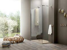 Box doccia angolare in vetro temperato con piatto SEPARET OTTO | Box doccia angolare - ARBLU