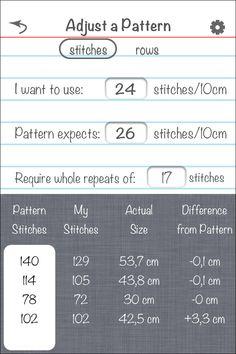 knittricks-screenshot  Appli, plus besoin de règle de trois...