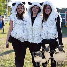 DIY Halloween Group Costume 2015: Shaun the Sheep