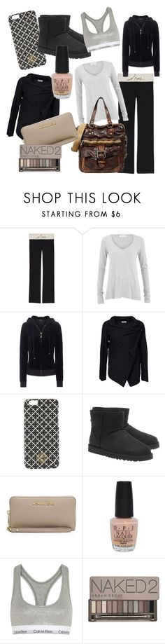 """""""Gifts for Her #3"""" by elinlinneagerlin ❤ liked on Polyvore featuring Victoria's Secret, American Vintage, Campomaggi, Juicy Couture, Hunkydory, By Malene Birger, UGG Australia, MICHAEL Michael Kors, OPI and Calvin Klein Underwear"""