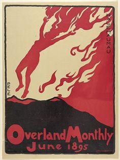 Overland Monthly - Lafayette Maynard Dixon, 1895