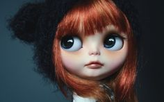 Blythe Doll Red Hair