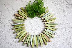http://www.celebrations.com/c/read/st-patricks-day-clothespin-wreath
