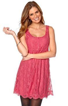 Seje Happy Holly Kjole Kira M?rk rosa fra Halens Happy Holly Kjoler til Dame i lækker kvalitet