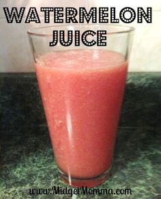 Watermelon Juice Recipe - ONLY 1 ingredient!!