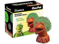 Kermit the Frog Chia Planter | Muppets