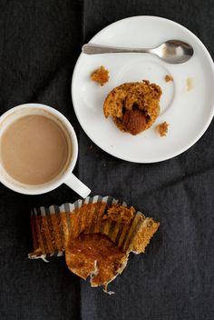 coffee flavored cupcakes, yum! via designsponge