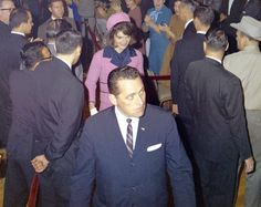 Morning of 11/22/63: SA Clint Hill with Jackie Kennedy (SA Paul Landis trails)