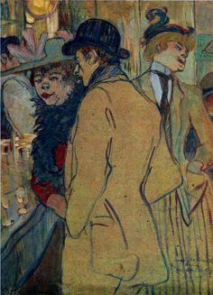 """""""Alfred la Guigne"""" - Henri de Toulouse-Lautrec"""