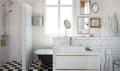 kaklad mellanvägg badrum - Sök på Google