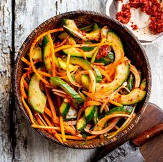 Need Banting recipes & meal plans? Our online program is jam-packed with recipes, meal plans, cooking demonstrations. Korean Cucumber Salad, Banting Recipes, Pasta Salad, Meal Planning, Revolution, Side Dishes, Spicy, Low Carb, Healthy Eating
