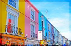Portobello Market in London!