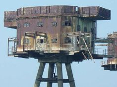 (1. Maunsell Sea Forts, UK - continued)  Photo: Google