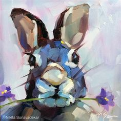 """Daily Paintworks - """"Did I hear SPRING"""