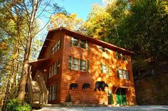 """Have A Large Family? Planning a Reunion or Group Outing? Then Let """"Bear Britches Lodge"""" be the place to reminiscence or create new memories."""