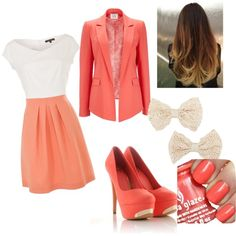 outfit for school by rizka-habsyi on Polyvore
