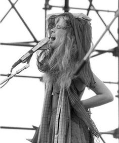 Art print POSTER CANVAS Stevie Nicks At Beach with Shawl Billowing in Wind