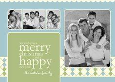 Christmas Photo Card - Holiday Photo Card - Custom Photo Greeting Card