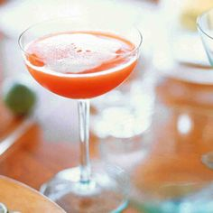 Blood Orange Champagne Cocktails Recipe. Follow @MS_Living on Pinterest for more exclusive recipes and inspiration from the editors of Martha Stewart Living.