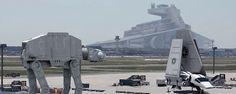 """Star Wars : des Storm Troopers et des """"vrais"""" vaisseaux aperçus à Francfort !"""