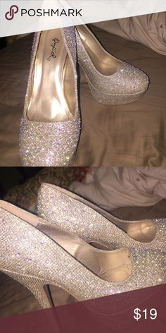 Heels Worn these bad boys once for my sisters wedding and were very comfortable to wear. Qupid Shoes Heels