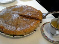 Cozinha & Cia.: Bolo de Nozes com cobertura de Doce de Abóbora e Canela