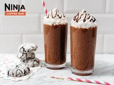 Mocha Ninjaccino Recipe - Coffee and chocolate are a perfect match. We'll officiate the wedding.