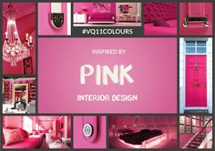 Today in our 11 weeks of colour we're looking at interior design inspiration for our colour of the week - Pink.  Looking for ideas to help inspire you to get out the paint brushes? Well as we know from earlier in the week Pink is recognised as having a calming effect when used in interior design – so why not use pink to create a little ocean of calm in the bedroom or a sea of tranquillity in the lounge? Watch this space today for all the interior design tips we'll be sharing with you.