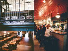 LOW TECH DESIGN! Easy Tiger pub & bakery by Veronica Koltuniak, Austin   Texas store design bar and restaurant