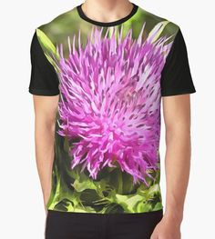 Purple Thistle Wildflower by taiche #Purple #Thistle #Wildflower Graphic #TShirts #apparel #clothing #fathersdaygifts #fathersday    https://www.redbubble.com/people/taiche/works/26725590-purple-thistle-wildflower?asc=t&p=mens-graphic-t-shirt via @redbubble