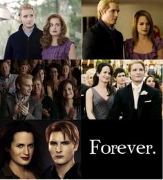 Carlisle & Esme <3 My favorite Twilight characters :)