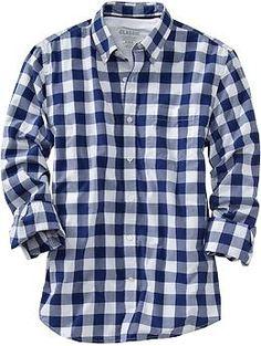 Mens Everyday Classic Slim-Fit Shirts