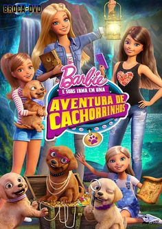 Barbie and her sisters, Skipper, Stacie and Chelsea, and their adorable new puppy friends find unexpected mystery and adventure when they return to their hometown of Willows. Barbie Movies, Barbie Toys, Play Barbie, Barbie Dream, Will Turner, Walt Disney, Barbie And Her Sisters, Barbie Princess, Cartoon Gifs