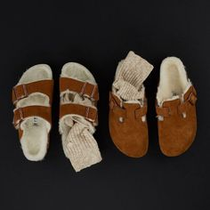 Birkenstock Outfit, Birkenstock Arizona, Sock Shoes, Baby Shoes, Dream Shoes, Mode Inspiration, Swagg, Signature Style, Autumn Winter Fashion