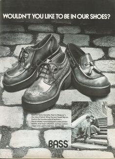 Bass Shoes - 1973