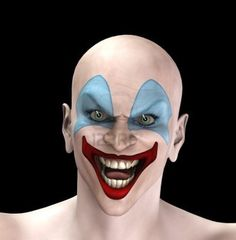 Halloween Mask Snake Tongue Evil Clown | Mask Inspirations ...