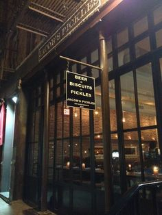 Jacob's Pickles - UWS - Amsterdam & 85th - they have root beer floats