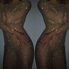Crystallized sheer, micro-mesh catsuit...for when I finally debut my Britney toxic Halloween costume!!!! ;)