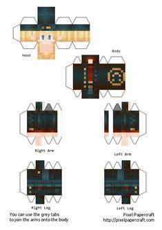 Minecraft Templates, Minecraft Blueprints, Minecraft Crafts, Minecraft Designs, Minecraft Heads, Minecraft Skins, Mc Banner, Papercraft Minecraft Skin, Paper Toys