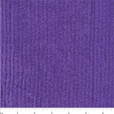 Purple Cotton Chenille - TC0527   Discount By The Yard   Fashion Fabrics