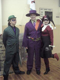 Riddler, Joker and Harley Quinn by L.S. Day