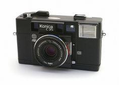 Konica C35 AF by Capt Kodak, via Flickr