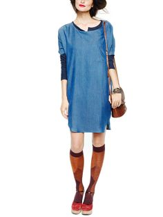 Pocket Shirt Dress by HATCH Collection at Gilt - I can wear this non-pregnant, too, right?
