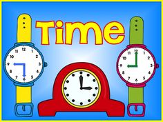 A bunch of resources to use when you are teaching time. Videos, songs, books, Pinterest board, and centers($).